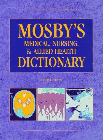 Mosbys Medical Dictionary